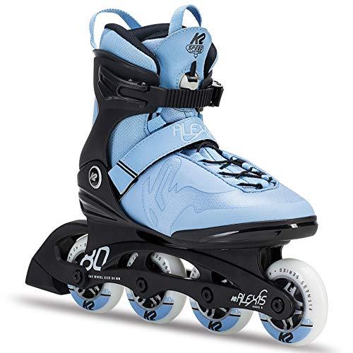 K2 Skate Women's Alexis Pro Inline Skate, Blue Black (Pro Skate Boot)
