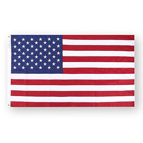 [American flag, 3X5 nylon material, the stars and stripes perfect sewing, Withstands Tough Weather and Wind--ZOOYOO] (Football Yard Marker Costume)