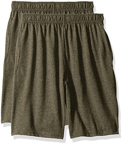 Hanes Big Boys Jersey Short (Pack of 2), Camouflage
