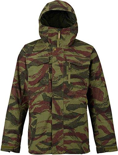 Burton Men's Shell Covert Jacket, Brush Camo, Large