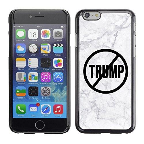 Print Motif Coque de protection Case Cover // Q04110545 Never Trump marbre gris // Apple iPhone 7
