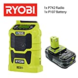 RYOBI Radio Combo - P742 Radio - P107 Battery - No Charger
