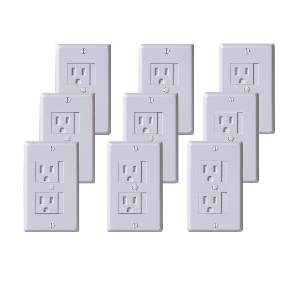 KidCo Universal Outlet Cover 9 Pack - White