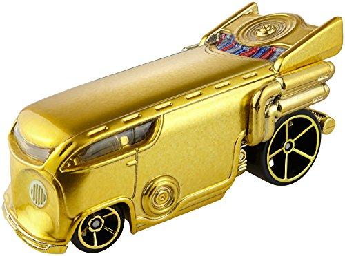 - Hot Wheels Star Wars Rogue One Character Car, C-3PO