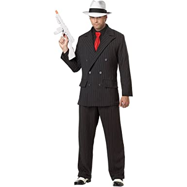 Amazon.com: Mob Boss adulto Costume – Medium: Clothing