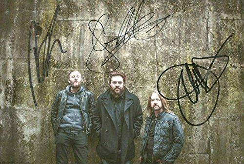 Rock Band Seether autographs, In-Person signed - Members Berlin Band