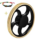 Fidget Spinner,  figet spinner Toy Time Killer Golden...