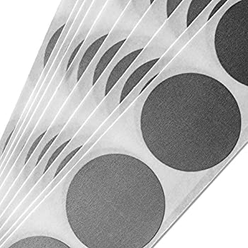 """Silver 1"""" Round (Quarter size) Circle Scratch-off Stickers Self Peel & Stick DIY Labels - Pack of 100 My Scratch Offs"""