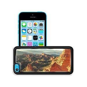 TYHde Green Landscapes Nature Orange Hills iPhone 5C Case Customized niuniu's case ending