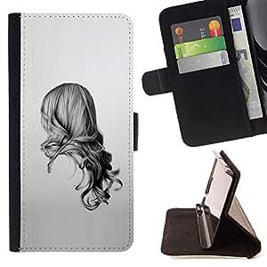 Momo Phone Case / Flip Funda de Cuero Case Cover - Belleza Volver;;;;;;;; - HTC One A9