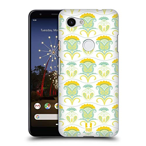 Head Case Designs Floral Daydream Bohemian Patterns Hard Back Case Compatible for Google Pixel 3a ()
