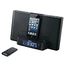 Sony Icfcs15ipn Lightning Alarm Clock Radio Speaker Dock for Iphone 5 5s 6 Ipod