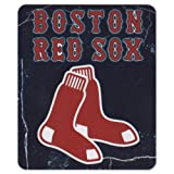 "MLB Lightweight Fleece Blanket (50"" x 60"": Yankees, SF Giants, Red Sox, Angels, White Sox)"