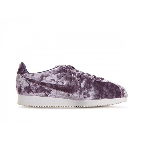 best sneakers 721a1 2c007 Nike Zapatillas de Terciopelo para Mujer Morado Dark Raisin/Summit White:  Amazon.es: Zapatos y complementos