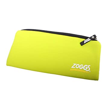 a44324dc7a Zoggs Swimming Goggles Pouch - Lime green  Amazon.co.uk  Sports ...
