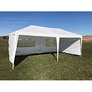 Palm Springs Outdoor 10 x 20 Wedding Party Tent Canopy with 4 Sidewalls  sc 1 st  Amazon.com & Amazon.com : Palm Springs Outdoor 10 x 20 Wedding Party Tent ...