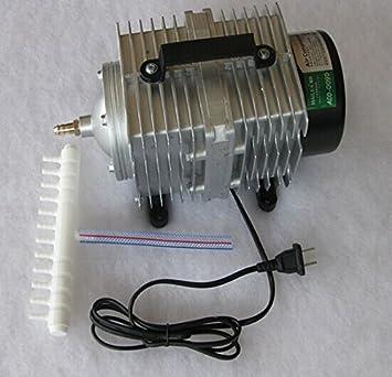 160 W Compresor De Aire Eléctrica Bomba de aire magnético para CO2 láser grabado para máquina de cortar aco-009e/CO2 Laser Engraver: Amazon.es: Juguetes y ...