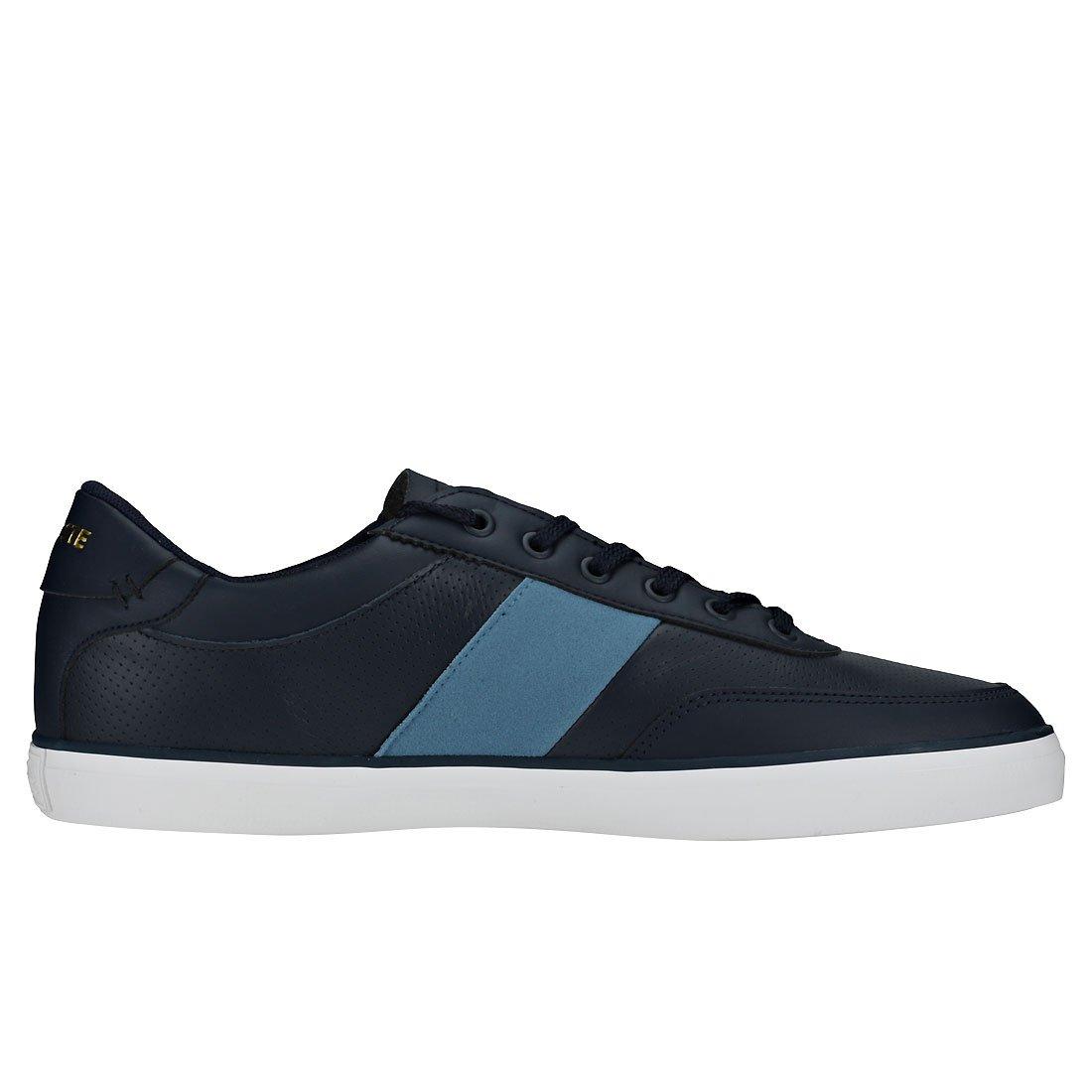 3c66de0b3 Lacoste Court-Master 318 1 Mens Trainers Navy Blue - 11 UK  Amazon.co.uk   Shoes   Bags