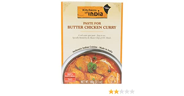 Amazon.com : Kitchens Of India Paste For Butter Chicken Curry    3.5 Oz   2  Pc : Grocery U0026 Gourmet Food