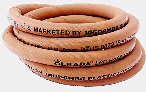 Olrada Reinforced Steel Wire Lpg Hose-Gas Pipe with Clamp (3m) (ISI Marked) Price & Reviews