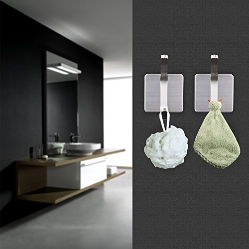 Taozun coat robe hook 3m self adhesive towel hooks for Bathroom design 3m x 3m