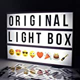 Locomocean Light Up Your Life Cinematic A4 Lightbox, Plastic