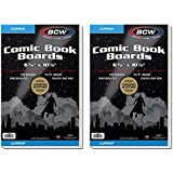 BCW NA Current Comic Book Backing Boards, 200 Count, White