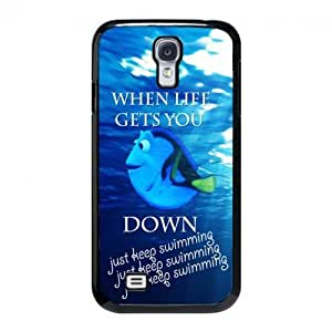 HOT CASE SALE ON Guooneshop!Keep Calm and Just Keep Swimming For Case Iphone 6 4.7inch Cover - Hard Plastic Cell Phone Case