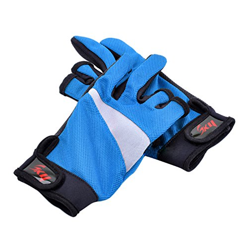 Fishing gloves anti slip wear resistant fish fisherman for Fishing sun gloves