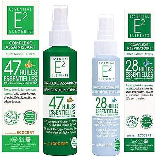 Kit de protección : Spray desinfectante con 47 aceites esenciales ...