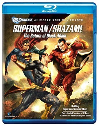 Amazon.com: Superman/Shazam!: The Return of Black Adam [Blu ...