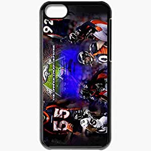 Personalized iPhone 5 5s Cell phone Case/Cover Skin 1053 denver broncos Black