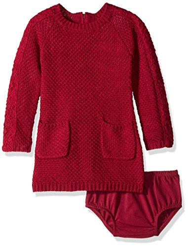 Lucky Brand Little Girls' Isabella Dress, Beet Red, 6X by Lucky Brand