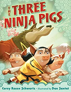 Book Cover: The Three Ninja Pigs