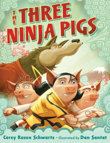Book Cover: The Three Ninja Pigs