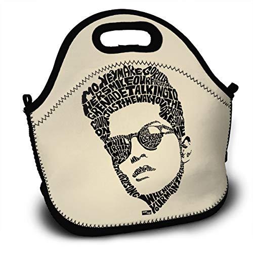 Bruno Singer Mars Logo Lunch Bag Tote Box Reusable Handbag For Men,Women,Kids