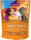 Halo Spot's Stew Natural Dry Cat Food, Indoor Cat, Wholesome Chicken Recipe, 6-Pound Bag