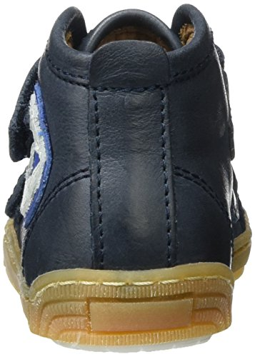 Bisgaard Klettschuhe - Zapatillas Unisex Niños Blau (601 Blue)