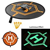 2018 New Luminous InnoGiz 84cm 33'' Drone Landing Pad, Portable Fast-Fold, RC Quadcopter Helicopter: DJI Mavic Air,Pro,Platinum,InspirePro 3 2 1,Phantom 4 Pro 4 3 2,Matrice Pro,Spark,3DR,Yuneec Typhoon