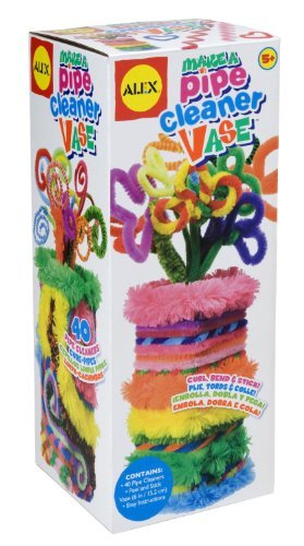 Alex Toys Craft Pipe Cleaner Vase by Alex