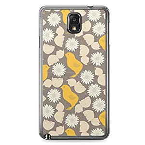 Pattern Chicks Samsung Galaxy Note 3 Transparent Edge Case - Animal Patters Collection