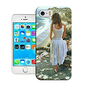 Fashion Case Art painting disrobe women top quality iPhone 5 /5s protective case cover pIKOEKW08MU for sale by LeTian case cover
