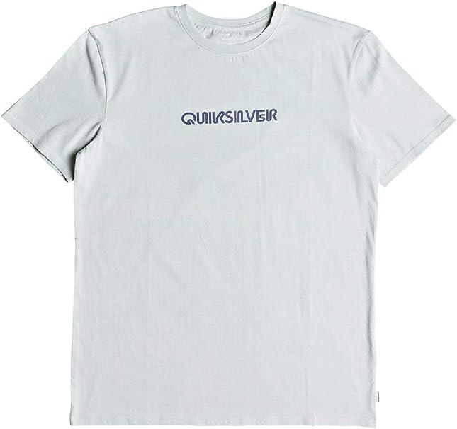 Black Quiksilver Mens Pixel Screen T-Shirt