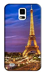 Eiffel Tower Hard Back Shell Case / Cover for Samsung Galaxy S5