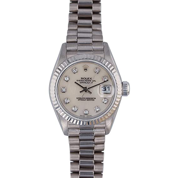 794b4eceacc Rolex Datejust Automatic-self-Wind Female Watch 69179 (Certified Pre-Owned):  Rolex: Amazon.ca: Watches