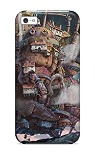 linJUN FENGAwesome Case Cover/iphone 6 plus 5.5 inch Defender Case Cover(howls Moving Castle)