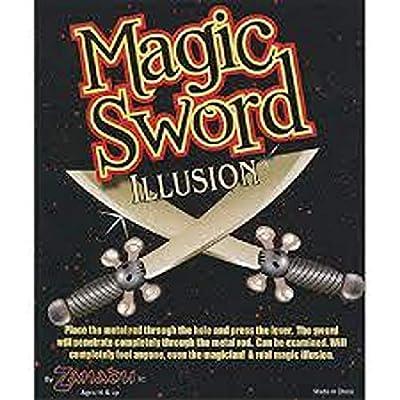 Magic Trick Penetration Sword Illusion: Toys & Games