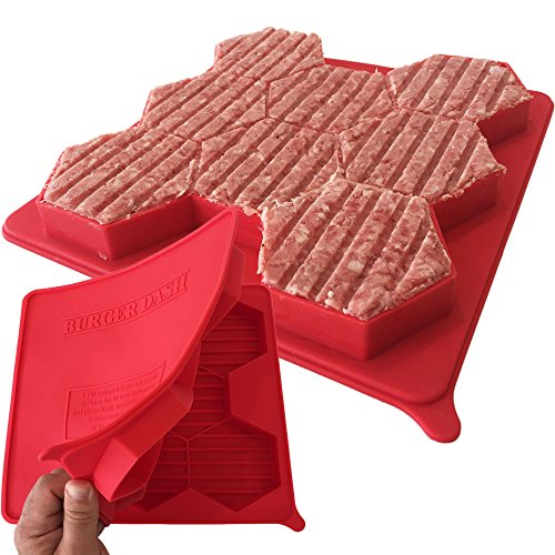 BURGER DASH Silicone Burger Press and
