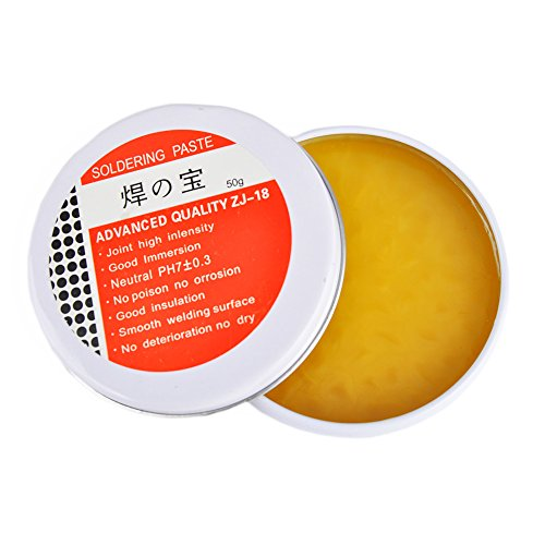 50G Soldering Soldering Flux Paste,Joint high Intensity, Good Immersion, No Poison no orrosion, Good Insulation, Smotth Welding Surface, No Deterioration No Dry … (Soldering Paste)