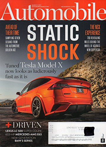 Automobile Magazine 2017 DRIVEN: LEXUS LC 500 SUPER COUPE 700 Revealing Miles Behind The Wheel of Acura's New Supercar NEW-GENERATION BMW 5 SERIES ()